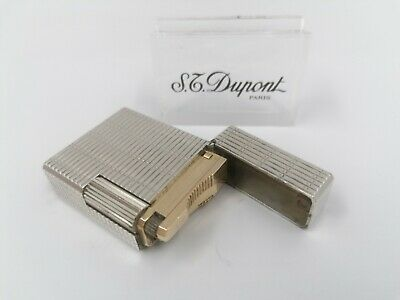 £29.03 • Buy ST Dupont Gas Lighter - Line 1 BS - Small Size - Silver Plated - Made In France