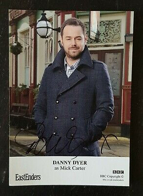 £4 • Buy Danny Dyer / Mick Carter EASTENDERS Rare Hand Signed Undedicated Cast Fan Card
