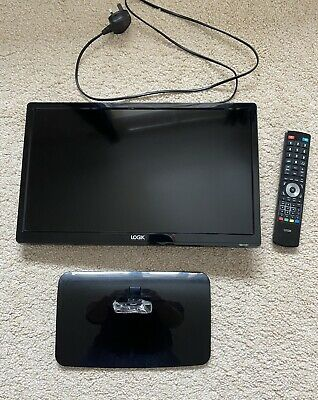 """£25 • Buy Tv With Stand-19"""" Hd Ready Logik Led"""