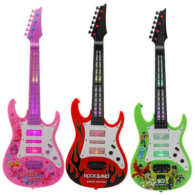 £39.80 • Buy 4 String Music Electric Guitar Children's Musical Instrument Toy, 53x18x4.5cm