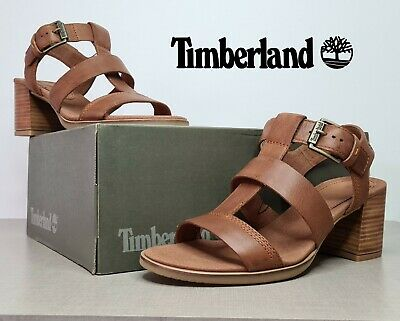 £44.99 • Buy Timberland Women's Earthkeepers Tallulah Leather Strap Sandal Brown - UK6