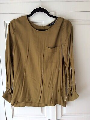 £1 • Buy French Connection Mustard Top Size 14