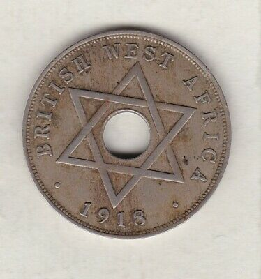 £20 • Buy 1918h British West Africa One Penny In Very Fine Condition.