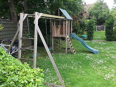 £50 • Buy Dunster House SquirrelFort Climbing Frame
