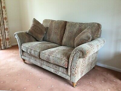 £250 • Buy Parker Knoll Burghley 2 Seater Sofa In Baslow Medallion Gold