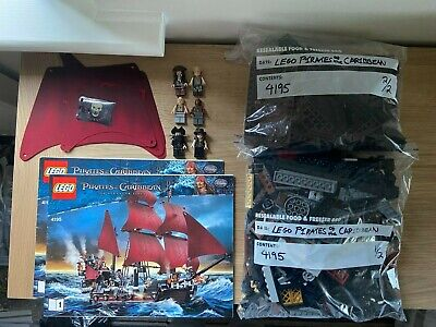 £66 • Buy LEGO 4195 Pirates Of The CaribbeanQueen Anne's Revenge