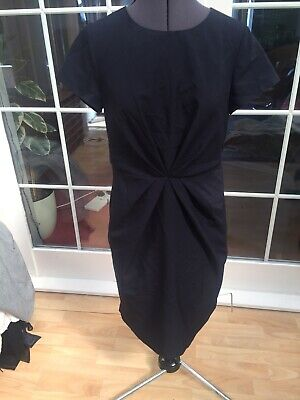 £5.99 • Buy New!!dorothy Perkins Navy Blue Pencil Lined Suit Dress Tailored Smart Work 12 40