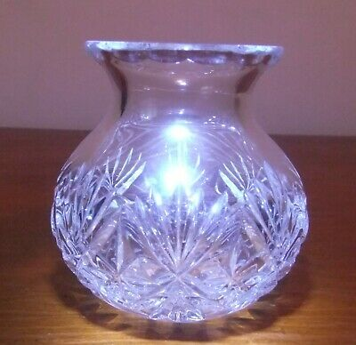 £6 • Buy Small Crystal Posy Vase, Approx. 3.25  Tall