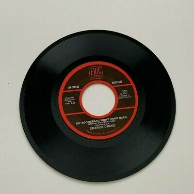 £8.32 • Buy Charlie Drake - My Boomerang Won't Come Back - I Remember You - Frank Ifield