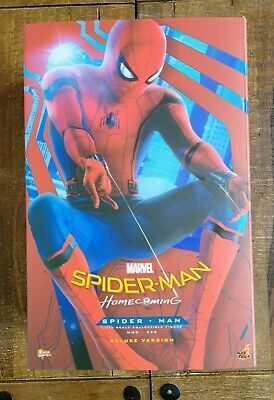 $ CDN508.90 • Buy Hot Toys Spider-Man Homecoming Deluxe 1/6 Figure Excellent Used Complete MMS426