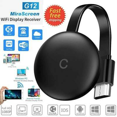 £10.99 • Buy G12 4K HDMI Wireless Display Dongle WiFi Display Receiver For TV Projector UK