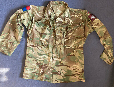 £20 • Buy British Army Parachute RGT MTP Lightweight S95 Barrack Shirt Size 170/88- USED