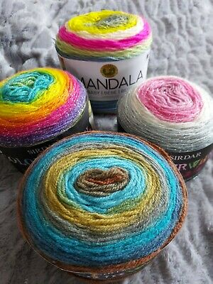 £14 • Buy Craft Clearout 4 X Yarn Cakes, Sirdar & Lion Brand Plus Patts 150g X4 ALL NEW