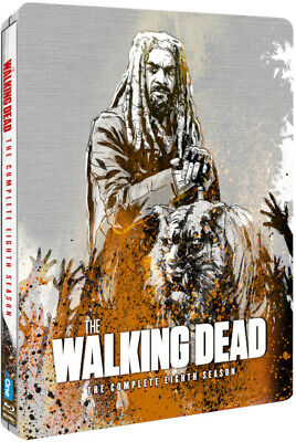 £11.49 • Buy The Walking Dead Season 8 Limited Edition Steelbook (Blu-ray) Andrew Lincoln