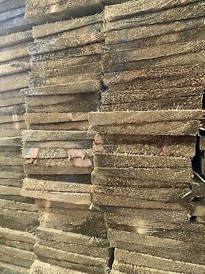 £1 • Buy TANALISED Featheredge Fence Rails 120mm X 1.2mtr  £1 Each