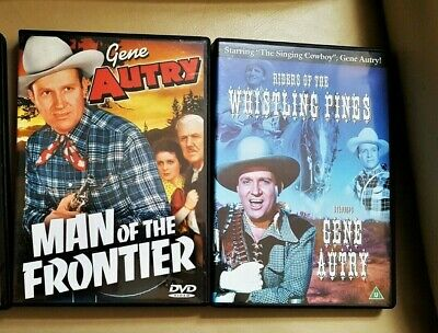 £14.99 • Buy 2 GENE AUTRY CLASSIC WESTERN FILMS On DVD All In Excellent Condition FREE POST