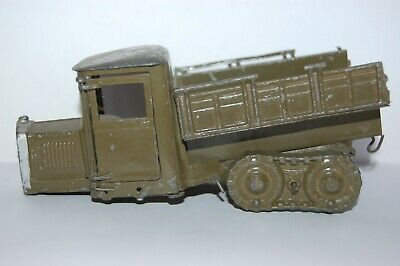 £14.99 • Buy Pre War Britains Lead Soldiers Caterpillar Lorry