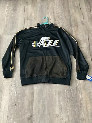 $32.50 • Buy (NEW) Official NBA Jazz Tri Color Track Jersey Size Large