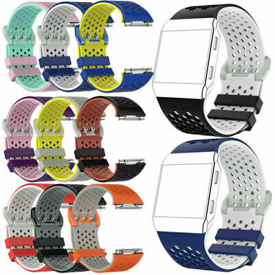 AU11.39 • Buy Soft Silicone Sport Replacement Strap Band Bracelet For Fitbit Ionic Smart Watch