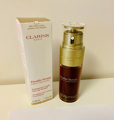 £39.99 • Buy Clarins Double Serum Age Control Concentrate - 1.6oz 50ml NEW
