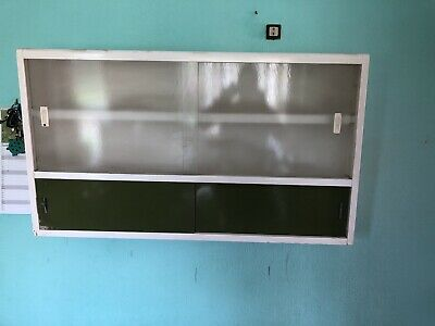 £5 • Buy Vintage Kitchen Wall Cabinet Unit -Late 1950s /Early 1960s.