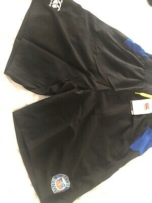 £0.99 • Buy Bath Rugby Union Training Shorts With Zipped Pockets Size Small