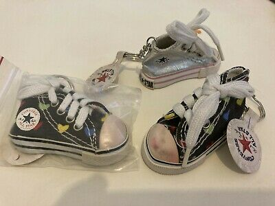 $16.68 • Buy All Star Converse Shoe Key Chain Key Ring Very Cool Designs 3 New With Tags