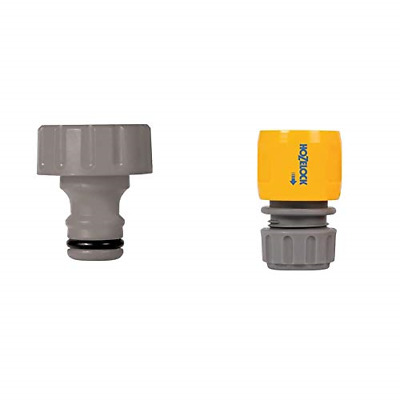 £10.51 • Buy Hozelock Inlet Adaptor For Reels And Carts & Hose End Connector 12.5mm & 15mm