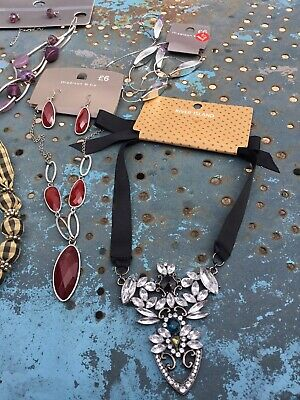 £1 • Buy Lot Of New Carded Costume Jewellery River Island, M&S