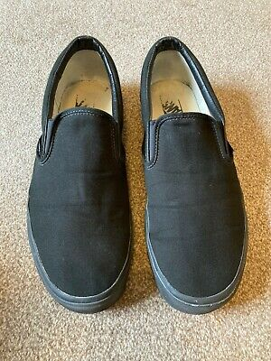 £5 • Buy Vans Classic Slip On Black - US 13 - Only Worn A Few Times