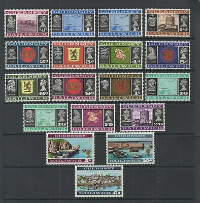 £12.50 • Buy Guernsey 1969 Views Of Guernsey Definitive Stamps Full Set