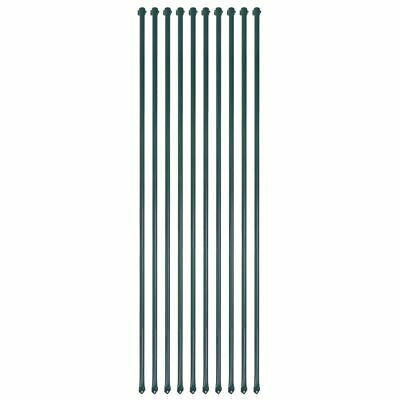 £55.99 • Buy 10 Pcs Garden Patio Fence Post Set 1.5m Metal Plant Supports Spikes Stakes P1Y3