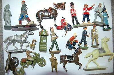 £6.50 • Buy Job Lot Of Vintage Britains & Other Makers Lead Soldiers                   Gf3