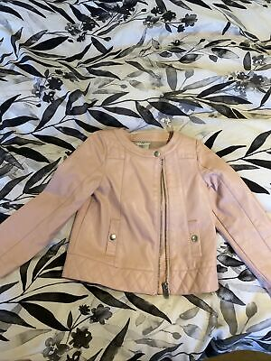 £4 • Buy Faux Leather Pink Max Studio Baby Jacket