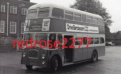 £0.99 • Buy Bus Photo Southdown Leyland PD3 6947 CD Chichester Bus Station Route 31