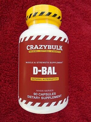 $59.69 • Buy  D-BAL  MUSCLE & STRENGTH SUPPLEMENT Natural Alternative 90 Caps. NEW & Sealed!!