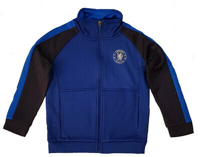 £14.95 • Buy Official Chelsea FC Football Tracksuit Top Kids 4 5 Years Boys Jacket CHH8