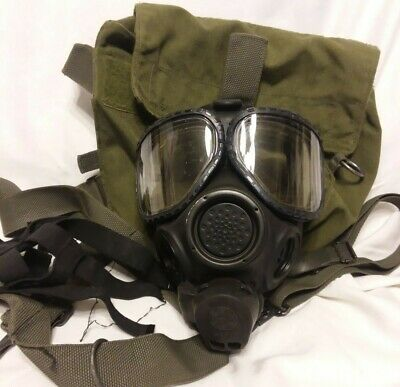 $115 • Buy M40 Gas Mask Small With 2nd Skin And Bag (J11)