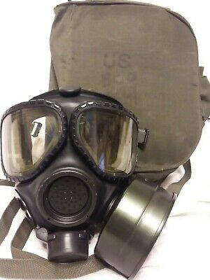 $125 • Buy M40 Gas Mask Small With 2nd Skin, Filter And Bag (J14)