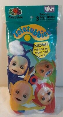 $ CDN37.71 • Buy Boys' Fruit Of The Loom Funpals Teletubbies 1998 Size 4T Made In USA Vintage