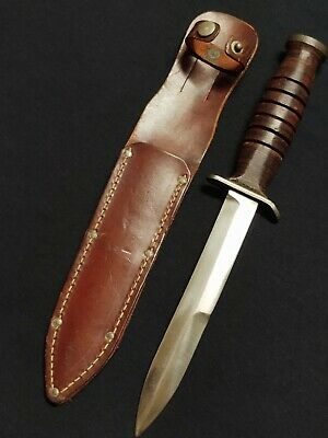 $81 • Buy Wwii Us M3 Utica Trench Knife  & Sheath *excellent*