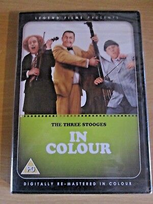 £3.99 • Buy NEW The Three Stooges Digitally Remastered In Colour DVD 1946 Sealed
