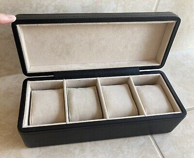 View Details Fossil Black Leather Watch Box • 34.99£