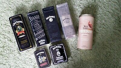 £40 • Buy Jack Daniels Whiskey Tin Collection