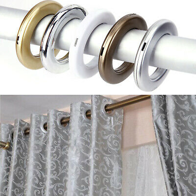 £8.99 • Buy 40Pcs Eyelet Curtain Rings Sewing Curtains Blinds Decoration Accessories