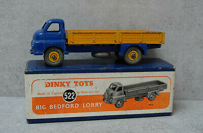 £175 • Buy Dinky Toys 522 Big Bedford Blue /Yellow  Boxed  Original