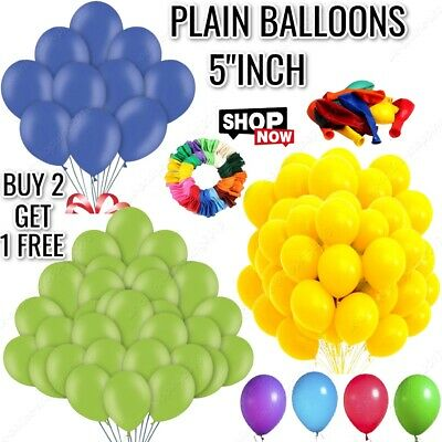 £2.89 • Buy Small Round Latex Best Balloons Quality 20 X 5   Standard Ballon Colour PARTY
