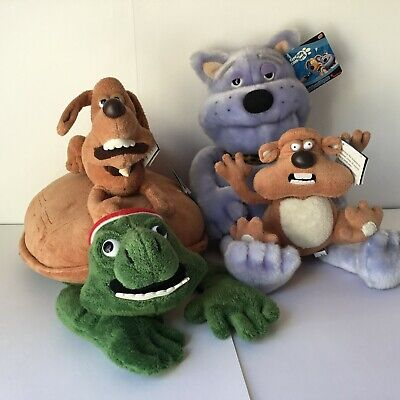 £21 • Buy  Aardman Creature Comforts From Makers Of Wallace And Gromit - 4x Plush Toy Set
