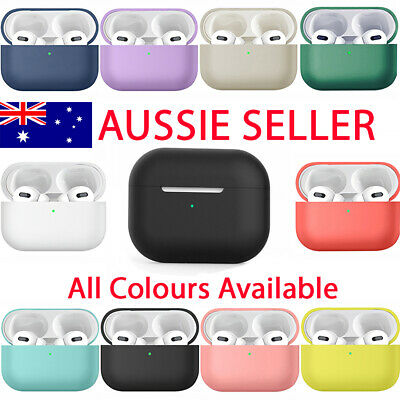 AU5.45 • Buy For Apple AirPods Pro Silicone Protective Cover Case Matte Soft Charging