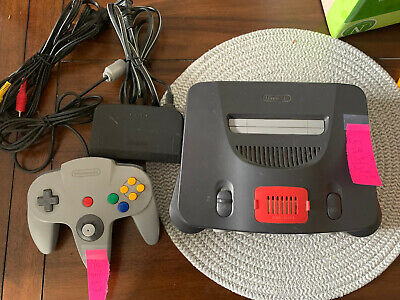 $ CDN136.23 • Buy Nintendo 64 Console Bundle N64 OEM Controllers Cords Memory Expansion Tested